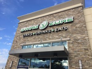 Front Building | Swing Zone Golf