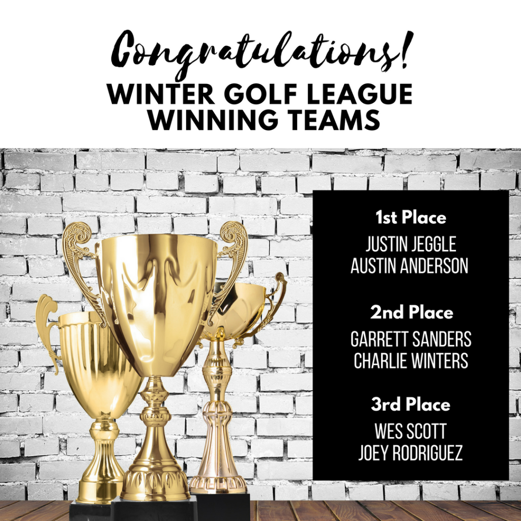 Winners | Swing Zone Golf